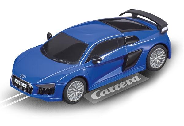 Carrera GO!!! Audi R8 V10 Plus blau