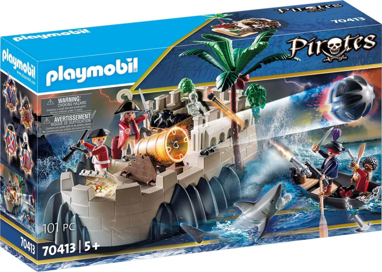 Playmobil 70413 Pirates Rotrockbastion