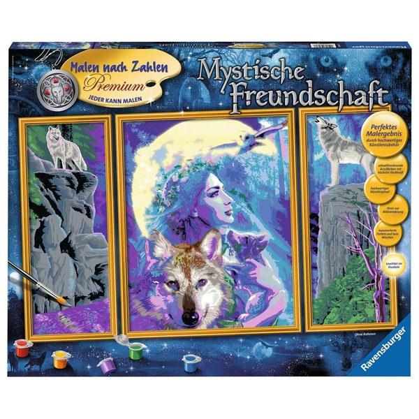 Ravensburger Malen nach Zahlen  Mystische Freundschaft