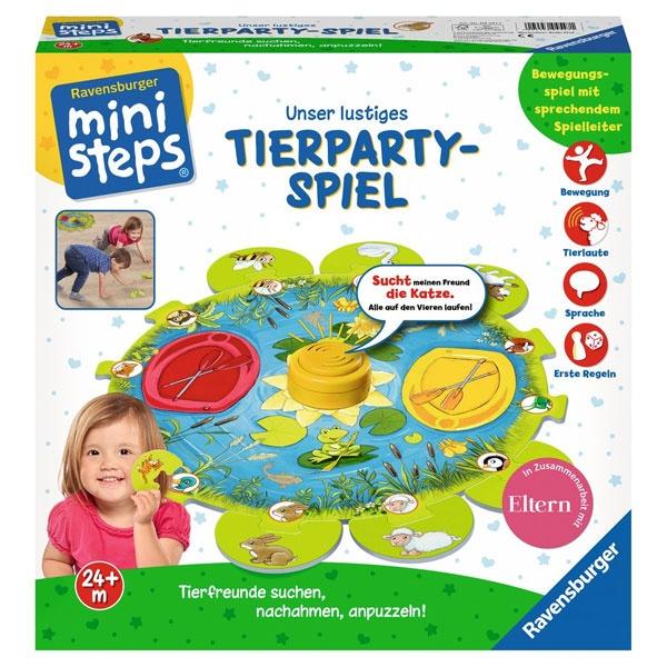 miniSteps Lustiges Tierparty-Spiel von Ravensburger