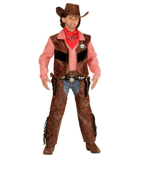 Kostüm Cowboy Gr. 128