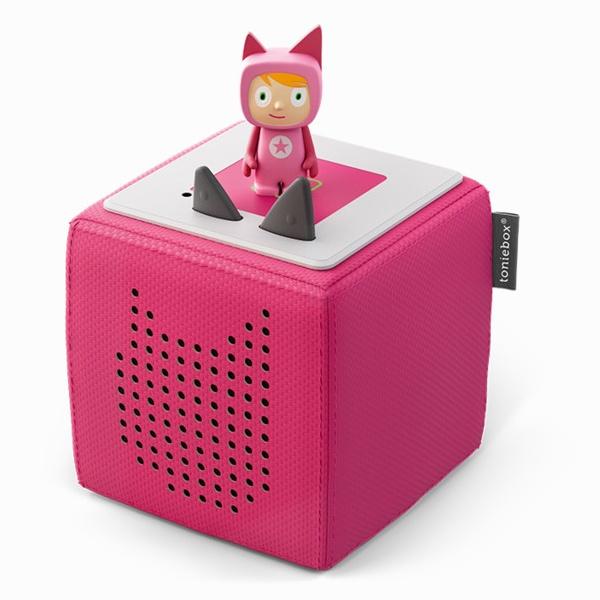 Tonie Toniebox Starterset Pink mit KreativTonie pink