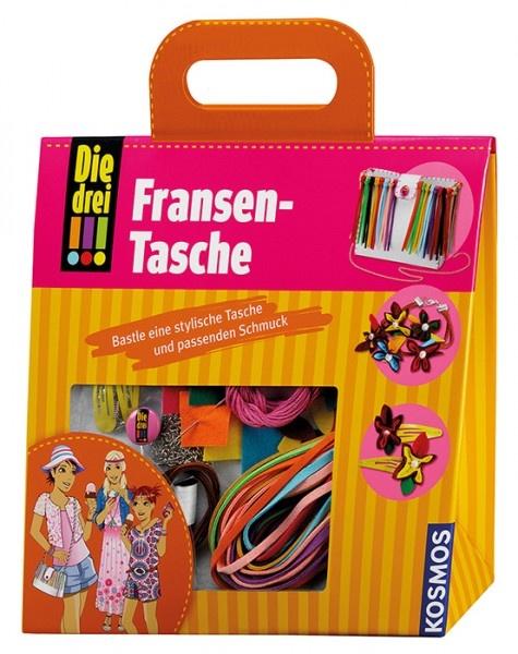 Die drei !!! Fransen-Tasche Bastelset