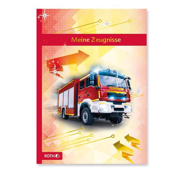 Roth Zeugnismappe Feuerwehr