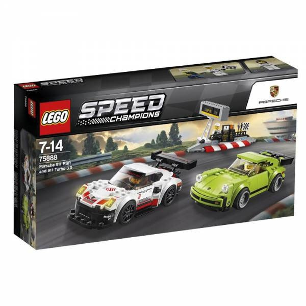 Lego Speed Champions 75888 Porsche 911RSR und 911 Turbo 3.0