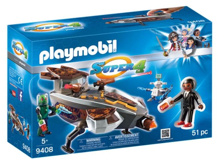 Playmobil 9408 Super4 Sykronischer Raumgleiter mit Gene