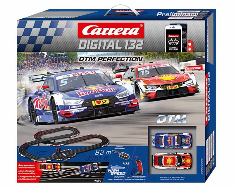 Carrera Digital 132 Autorennbahn DTM Perfection