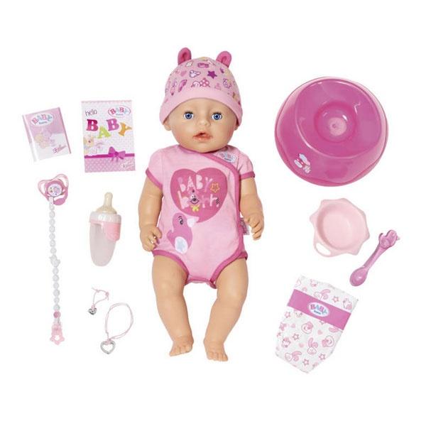 Zapf Baby Born Soft Touch Girl Puppe
