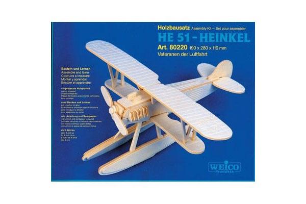 Holzbausatz HE 51 - Heinkel