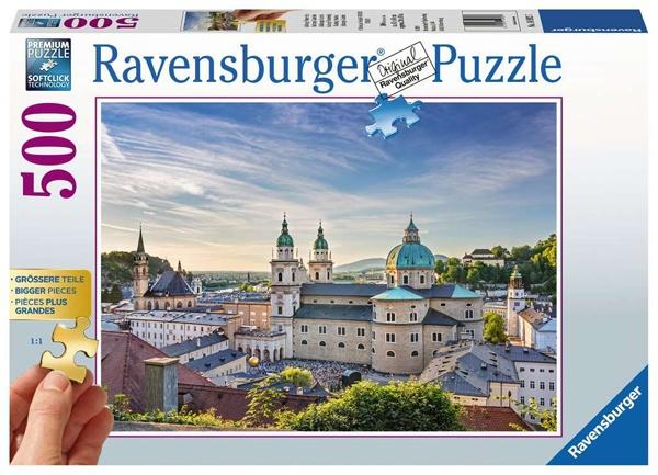Ravensburger Puzzle Salzburg Östereich 500 Teile