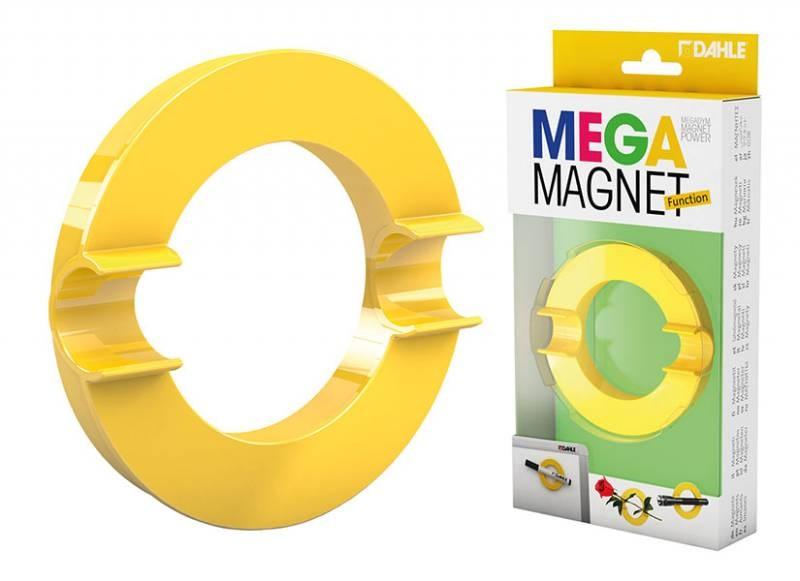 Dahle Mega Magnet XL Circle gelb