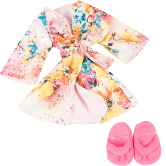 Götz Puppen Bademantel Kimono 50 cm