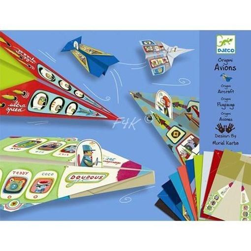 Djeco Bastelset Origami Flugzeuge