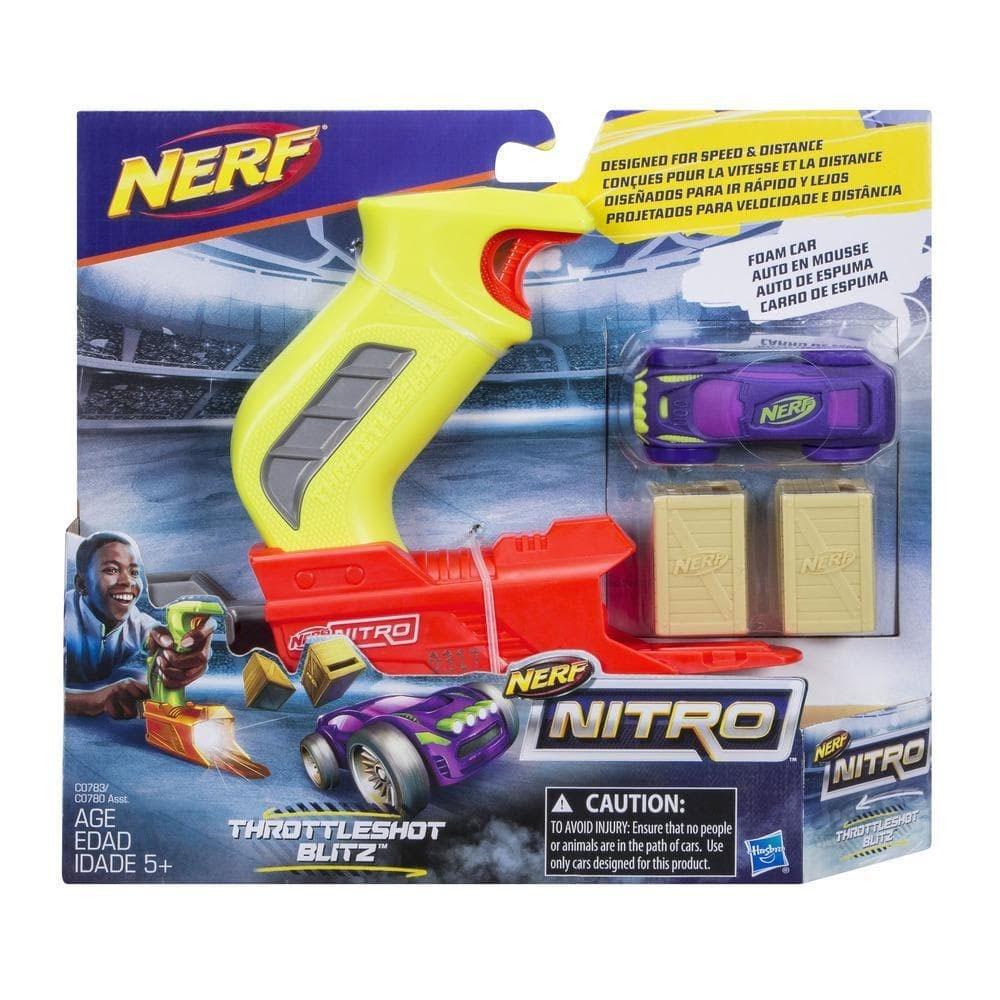 Nerf Nitro ThrottleShot Blitz Grün