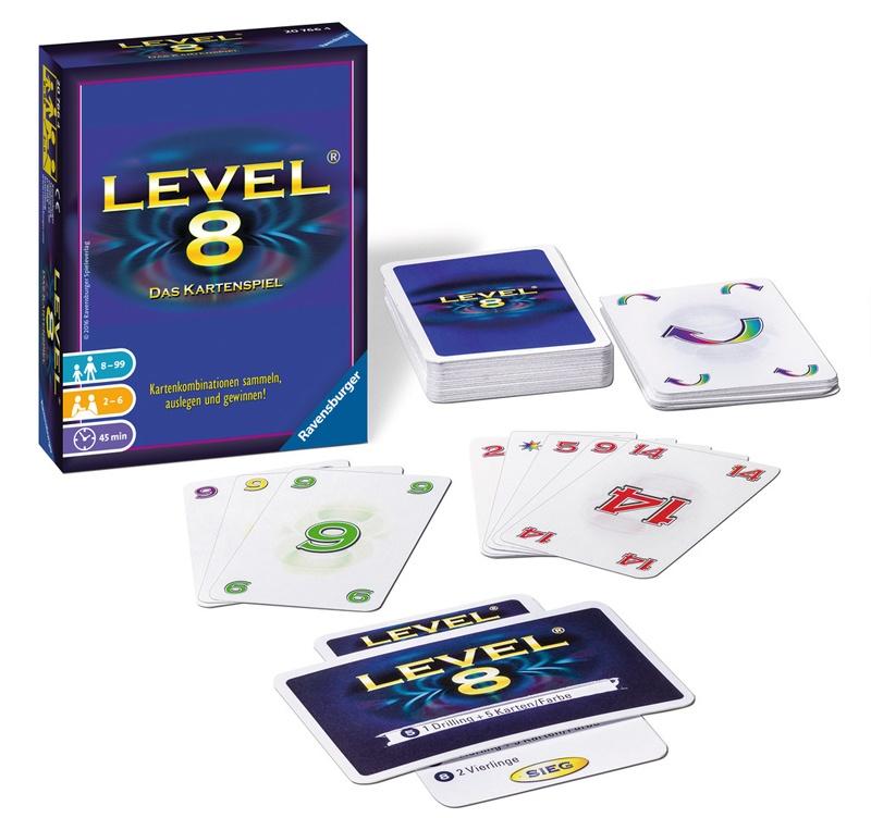 Ravensburger Kartenspiel Level 8