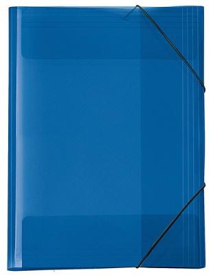 Veloflex Crystal Sammelmappe A3 transparent blau