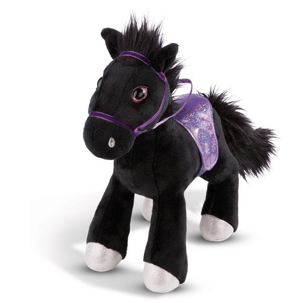 Nici Kuscheltier Pferd Black Cassis stehend 16cm