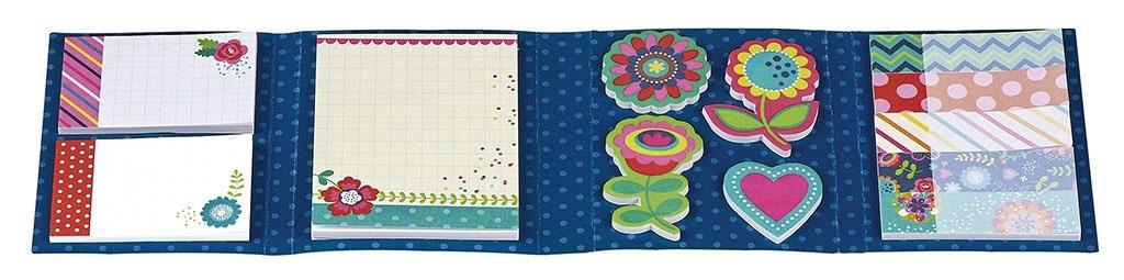 Stickerbüchlein Flowers und Dots