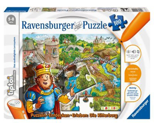 tiptoi Lernpuzzle Die Ritterburg 100 Teile
