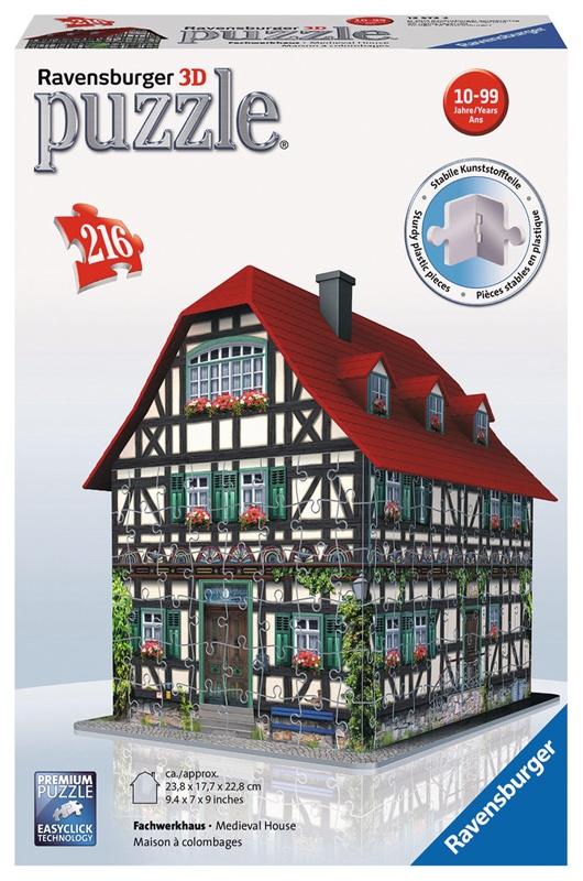 Ravensburger Puzzle 3D Fachwerkhaus