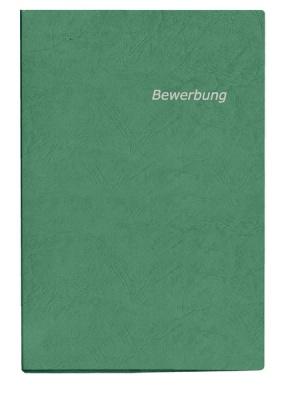 Bewerbungsmappe grün 2-tlg.