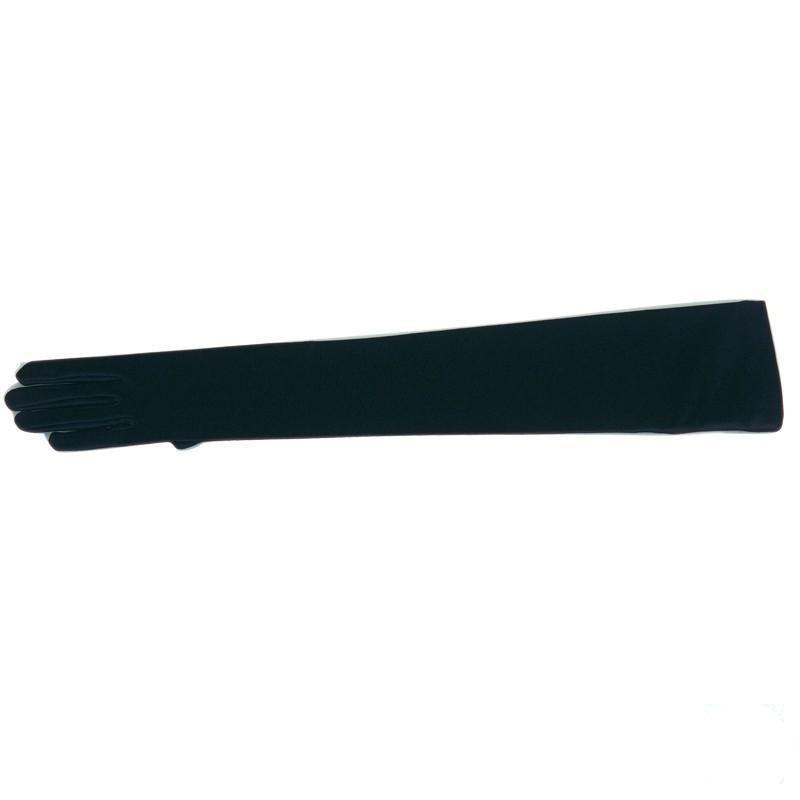 Spandexhandschuhe 47cm schwarz 7,5