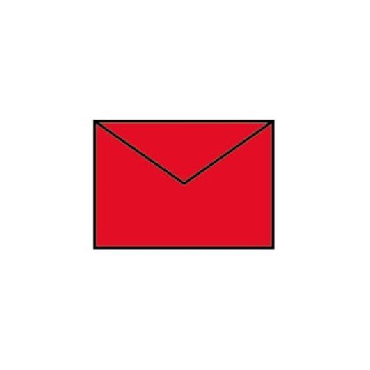Coloretti Briefumschläge C7  klatschmohn rot