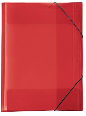 Veloflex Sammelmappe A4 rot transparent