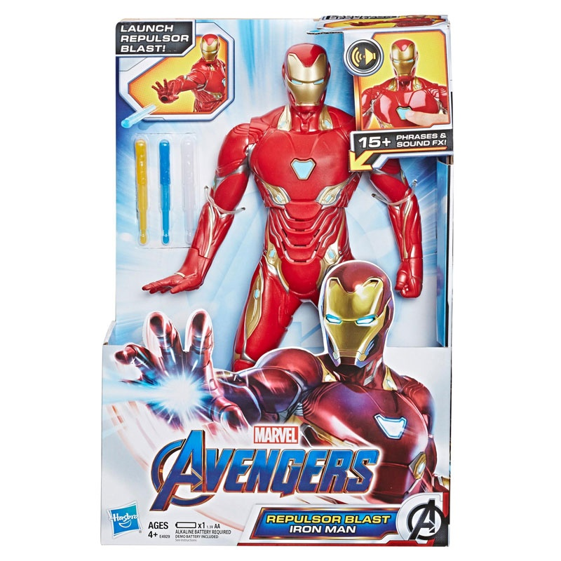 Avengers Feature Figur Iron Man E4929 von hasbro