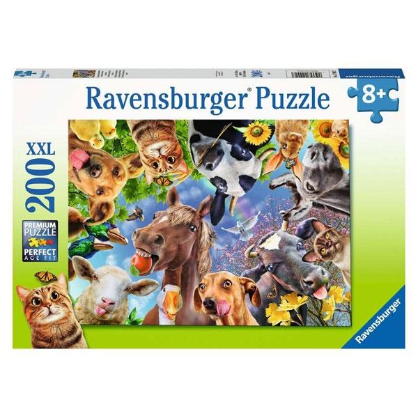 Ravensburger Puzzle Lustige Bauernhoftiere 200 Teile