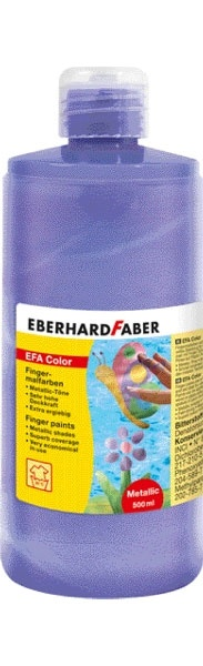 Fingerfarbe pearl lila 500 ml