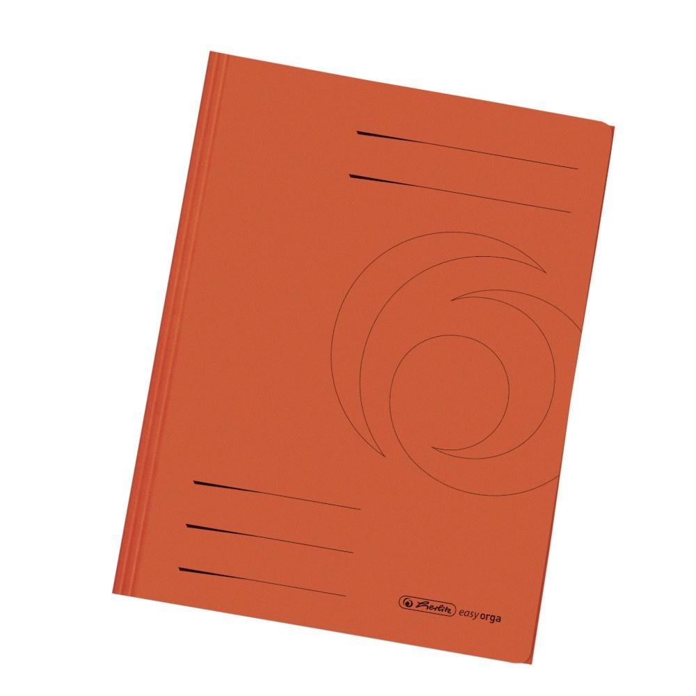 Einschlagmappe orange
