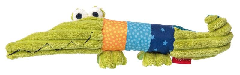 Sigikid PlayQ Quietsch-Greifling Krokodil