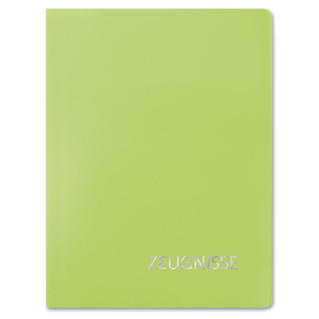 Roth Zeugnismappe A4 Basic grün 20 Einlagen