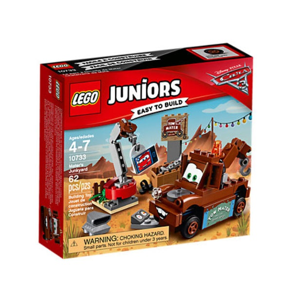 Lego Juniors 10733 Hooks Schrottplatz