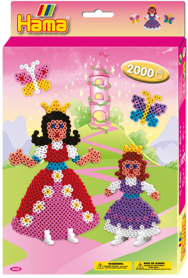 Hama Bügelperlen-Set Prinzessinnen Geschenkpackung 2000