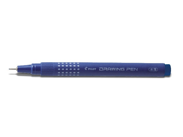 Pilot Fineliner Drawing Pen 01 blau