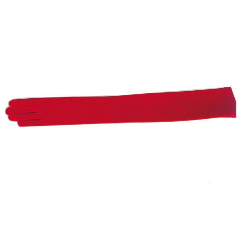 Spandexhandschuhe 47cm rot 7,5