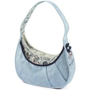 Handtasche klein blau 23x30cm
