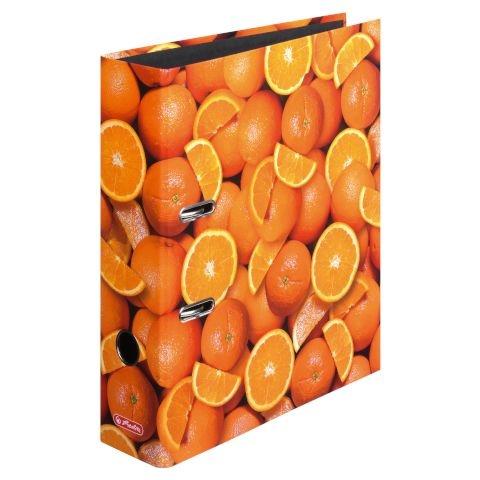 Herlitz Motivordner max.file A4 Orangen
