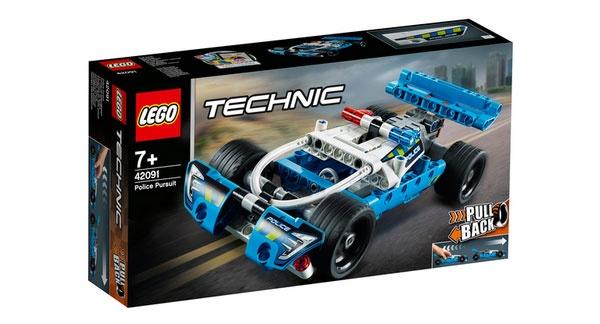 Lego Technic 42091 Polizei-Verfolgungsjagd