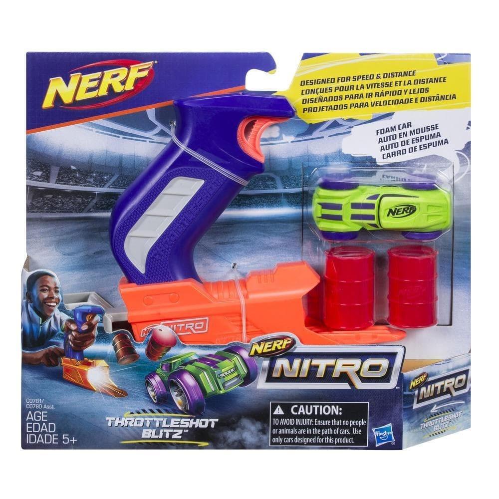 Nerf Nitro ThrottleShot Blitz Blau
