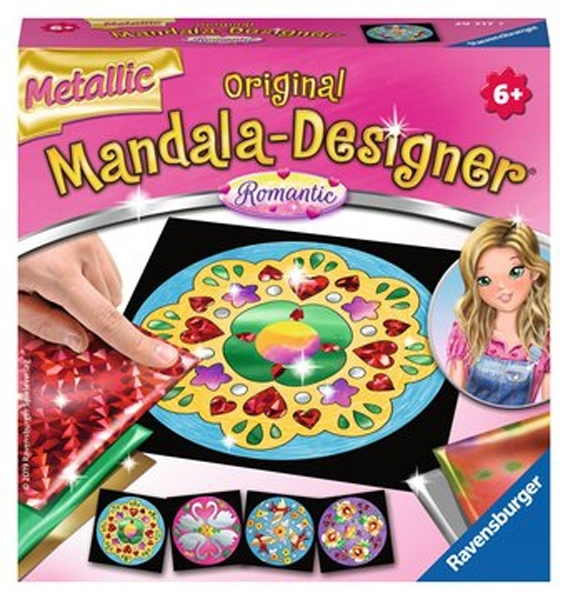 Ravensburger Mini Mandala metallic Romantic