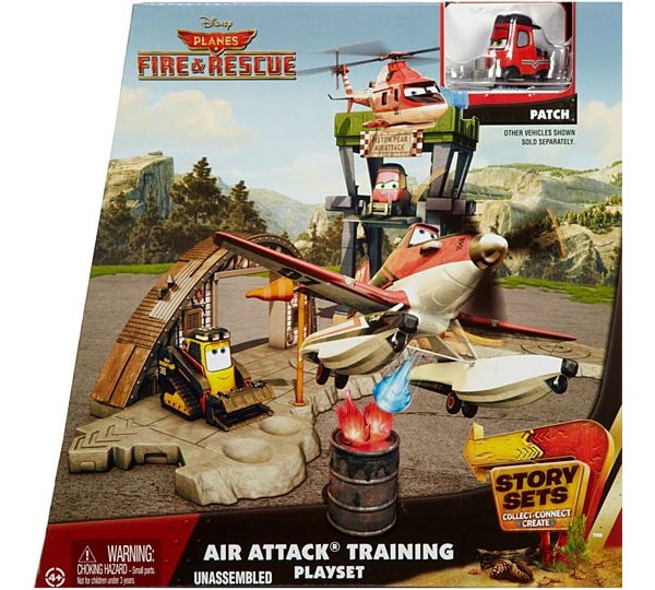 Planes Story Set Wildfire Rescue Waldbrand