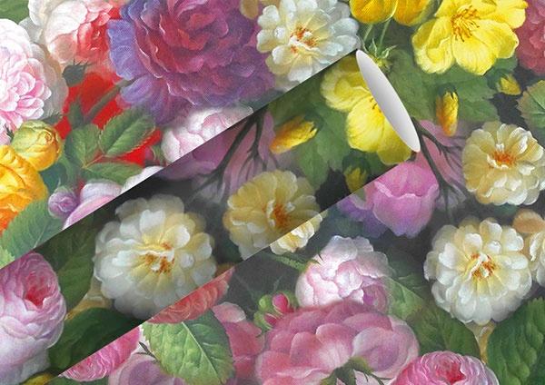 Geschenkpapier Barock Flower