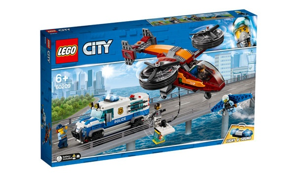 Lego City 60209 Polizei Diamantenraub