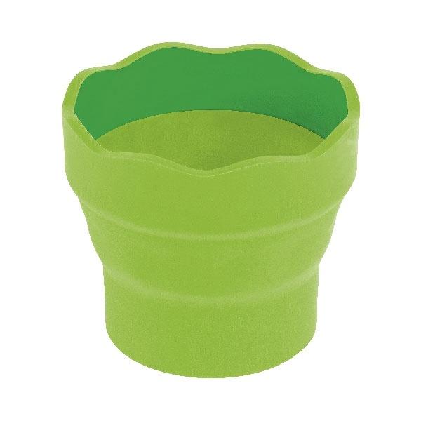 Faber Castell  Wasserbecher Clic & Go hellgrün