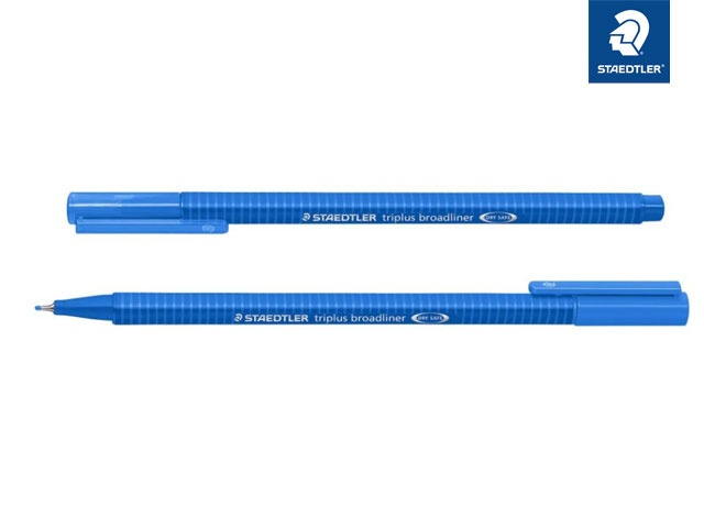 Broadliner triplus blau 0.8 mm