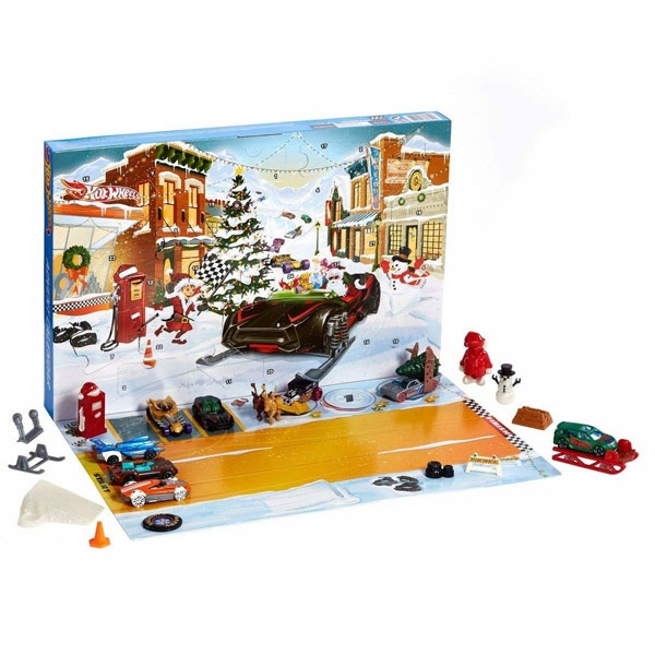 Adventskalender Hot Wheels 2019 von Mattel