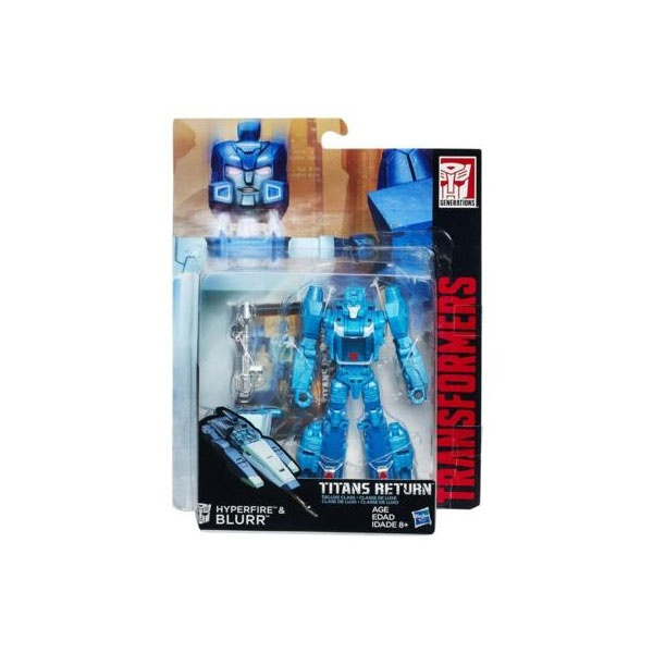 Transformers Titans Return Hyperfire und Blurr